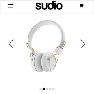 Sudio Wireless Regent Headphones - white colour