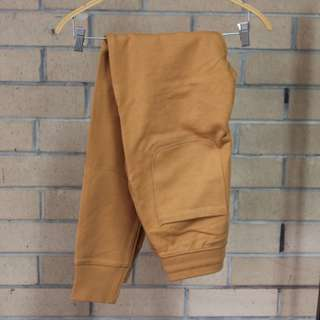 WM - Well Made Slim Fit Tan Tracksuit Pants
