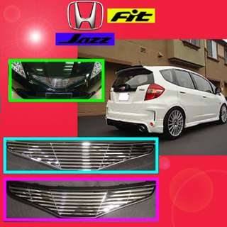 HONDA JAZZ/FIT GE FRONT GRILLE (CHROME)