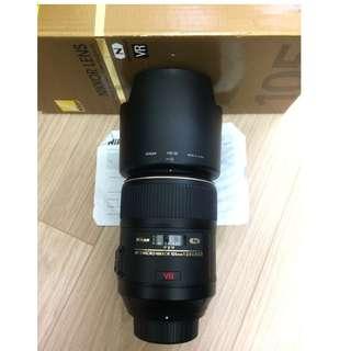Nikon AF-S VR 105mm f2.8G (公)