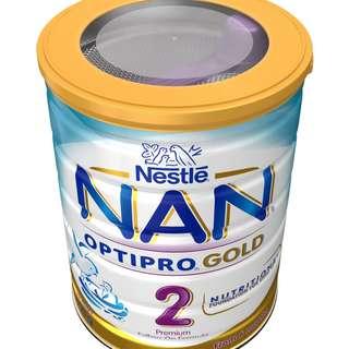 Nestle Nan Optipro Gold Formula Stage 2 6-12 Months 800g