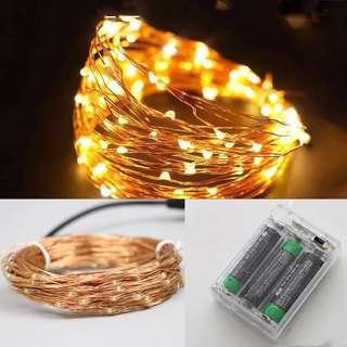 Copper wire Fairy lights - 10m