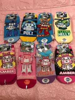 Instock authentic roboca poli kids socks 15-22cm And one pc 18-22cm brand new while stock last!!