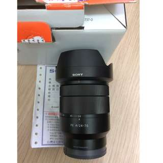 SONY FE 24-70mm F4 ZA OSS (公)