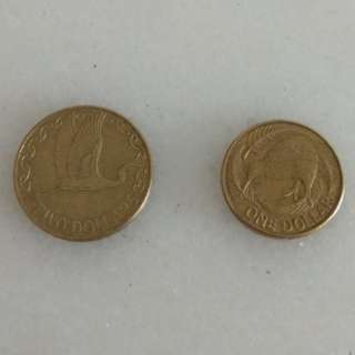 Old Coins - New Zealand Coins