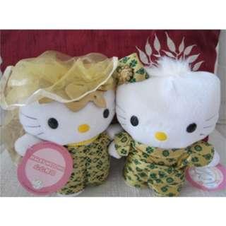 Hello Kitty X Dear Daniel Wedding Plushies (Malay Wedding)