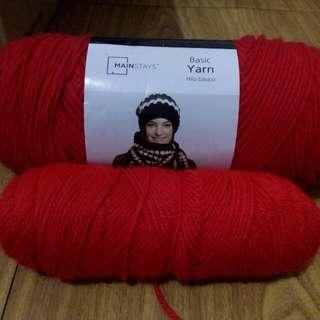 Mainstays yarn