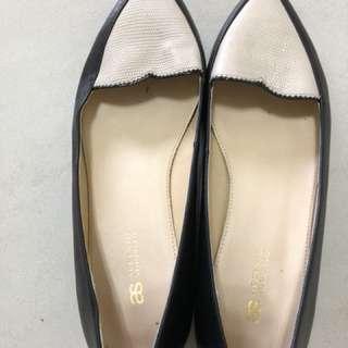 🚚 AS 雙色 楔型鞋