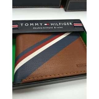 New Style!全新美國入口 TOMMY HILFIGER Wallet 銀包 (真皮) 聖誕禮物 專門店賣$590 蜜糖啡