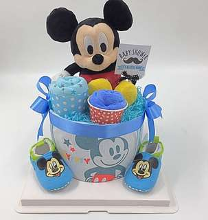 Baby Diapers Cake - Authentic Micky