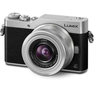 Panasonic Lumix DC GX850 Mirrorless Camera with 12 to 32mm Lens Silver
