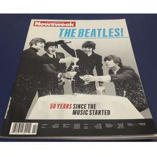 Newsweek Special Commemorative Issue - featuring The Beatles.