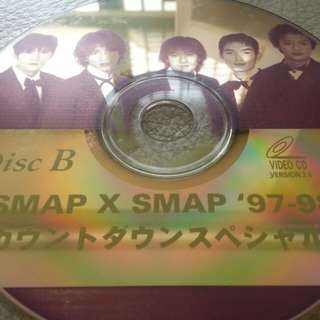 VCD: SMAP  X SMAP 97~98 (2 disc set)