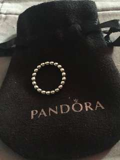 Genuine Pandora Bubble Ring - Size 52