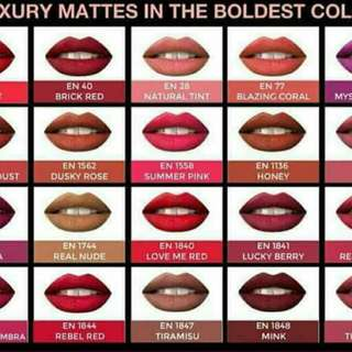 Luxury Long Lasting Mattes Lipstick With Milk content