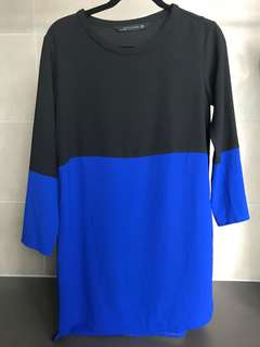 Like new ZARA COLOUR BLOCK DRESS