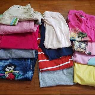 Bundle girl clothing 5-6 years