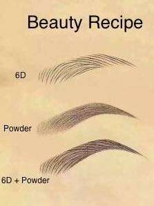 Eyebrow Broidery