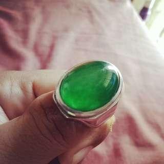 Batu Hijau Lumut (Green Calchedony)