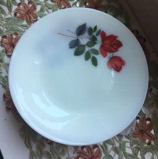 Plates june rose