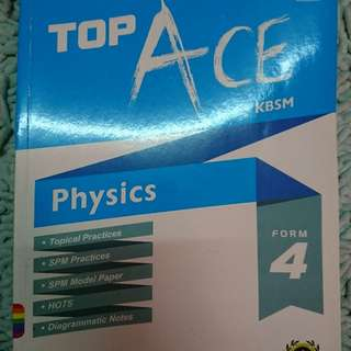 TOP ACE KBSM Physics Form 4 and form 5