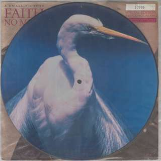 "Vg+ faith no more single 12"" numbered pic record vinyl"