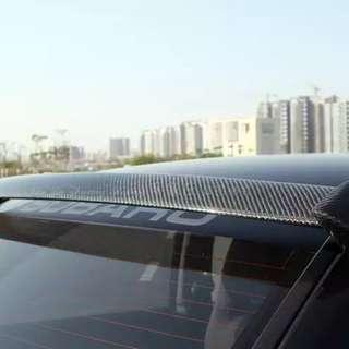 07 Subaru wrx sti carbon fibre roof vane