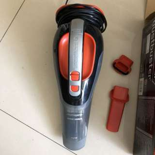 BLACK&DECKER 12V 車用吸塵器