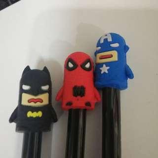Gel pen rm3 each