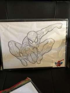 MINION / SUPERMAN/ spiderman paining set/ Pony  / Goodie bag