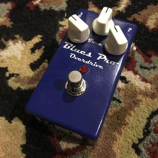 MI Audio Blues Pro (TS808 tubescreamer type, JRC4558 chip)