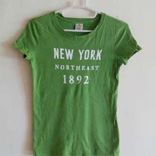 女 美國 abercrombie 上衣 T shirt