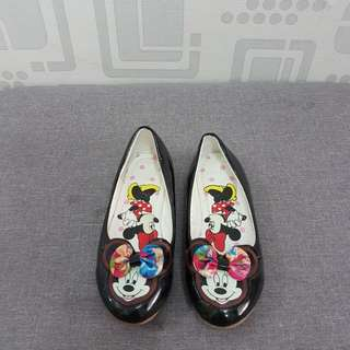 mickey black shoes