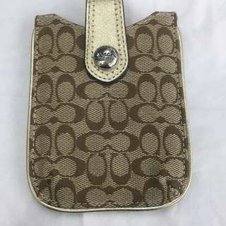 Authentic Coach Pouch Serbaguna