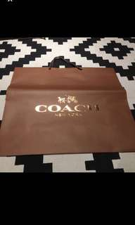 Coach Paperbag (1 no)
