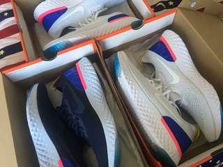 Nike Flyknit Epic React Ultraboost ultra boost