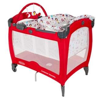 GRACO Contour Electra 舒適嬰幼兒電動安撫遊戲床