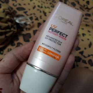 Loreal SPF 50 instant white