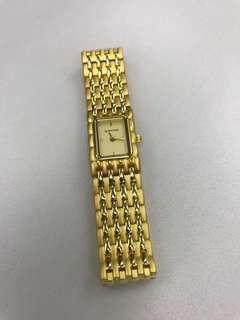 法國品牌french ladies gold watch