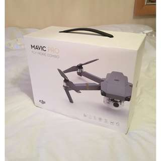 DJI Mavic Pro - Fly More Combo Bundle Only 6 Weeks Old Mint Condition w/ DJI Care Refresh