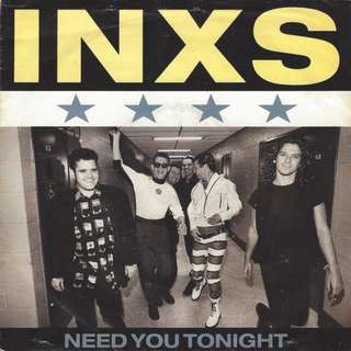 "Vg+ INXS ‎– Need You Tonight 7"" record vinyl single"