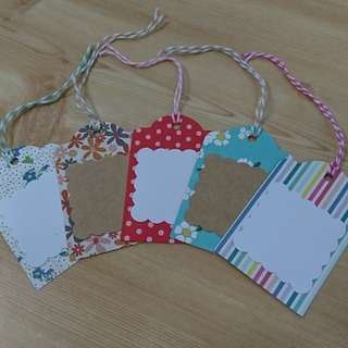 Assorted Gift Tags 5pcs