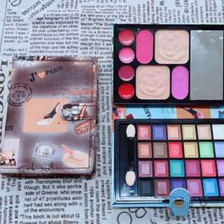 ➡wallet makeup palette  ➡150 ➡hypoallergenic & longlasting ➡LOOKING FOR MORE RESELLER⬅ ✔fast roi ✔earn 1500-3000weekly.. ✔direct & legit supplier since 2012..