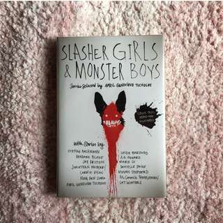 Slasher Girls & Monster Boys – April Genevieve Tucholke