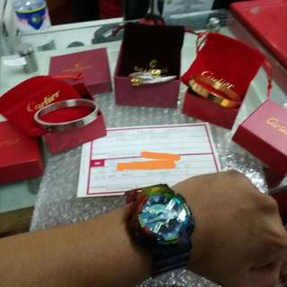 Charriol and Cartier bracelet