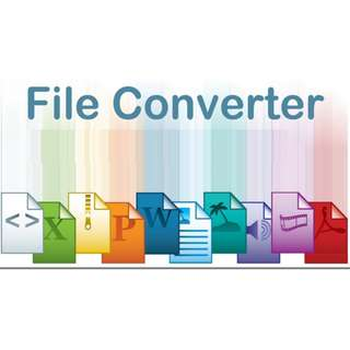 File Converter Services of document PDF, Word, Excel, PPT, Image, Ebook