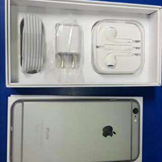 Iphone 6 16gb Fuctory unlock, complete package *Earpods *charger *ejector pin *lte sim card with free tempered glass and shockproofcase