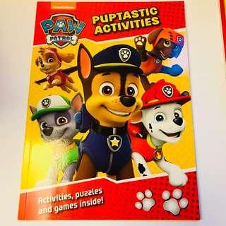 Paw Patrol Activities Book 遊戲簿