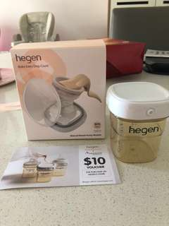 BN Hegen Manual Breast Pump Module