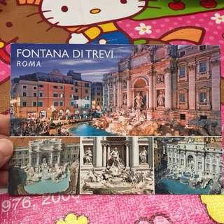 羅馬 明信片 Roma Postcard